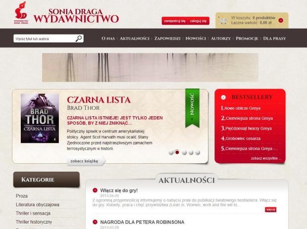 Sklep dla księgarni internetowej