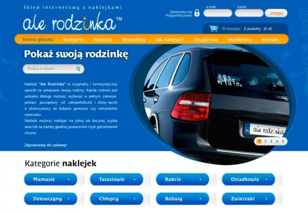 Sklep internetowy dla alerodzinka.pl