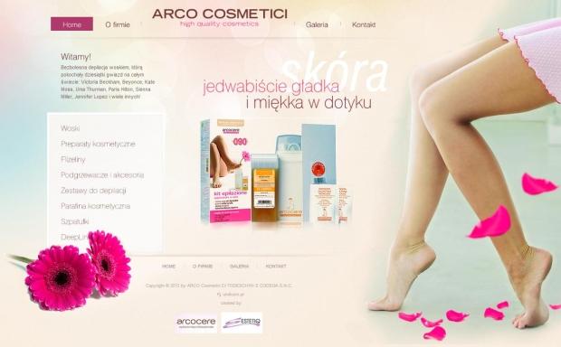 Strona internetowa dla Estetiq