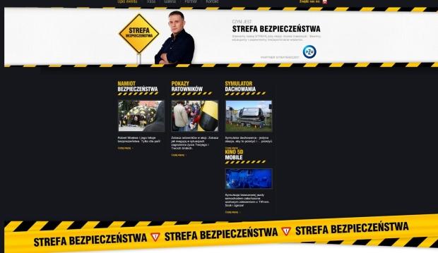 StrefaBezpieczenstwa.pl - strona internetowa